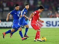 Thailand vs Myanmar Piala AFF 2016, Skor Akhir 4-0