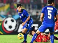 Thailand vs Myanmar, Skor Sementara 1-0