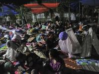 Korban Gempa Pidie Mengungsi di Masjid