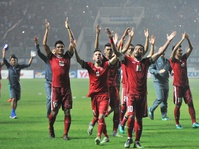 Laga Kedua Indonesia vs Thailand Tak Akan Dihadiri Jokowi