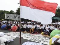 Jokowi Sampaikan Pesan Perdamaian untuk Bangsa Indonesia