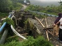 BPBD: Tujuh Jembatan Rusak Akibat Banjir di Solok