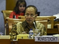 Menristek Larang Mahasiswa Ikut Demo 112 Jelang Pilkada