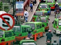 Angkot di Bekasi Wajib Gunakan AC Mulai Februari 2018