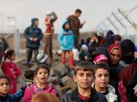 Sepekan Terakhir 15.000 Anak Mengungsi dari Mosul Barat