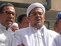 Kisah Kedekatan Wiranto dan Rizieq Shihab