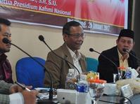 Mahfud MD Nilai Langkah Pansus Hak Angket KPK Ilegal