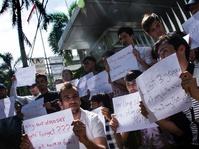 Protes Pengungsi Afghanistan di Indonesia Berlanjut