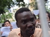Protes Para Pencari Suaka di Kantor UNHCR