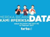 Debat 3 Pilgub DKI 2017