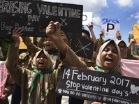 Hari Valentine: Aceh, Kalteng, NTB Larang Rayakan Hari Kasih Sayang