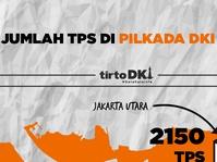 Infografik Jumlah TPS di Pilkada DKI 2017