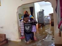 Air Bah Menggenangi Cipinang Melayu