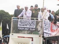 Habib Rizieq Berorasi dalam Aksi 212 Jilid 2