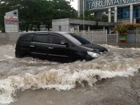 Sebagian Wilayah Jakarta Terendam Banjir