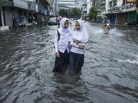 Banjir Terus Datang dan Surut di Cipinang Utara