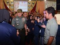 Panglima TNI Resmikan Pembuatan Film Merah Putih Memanggil