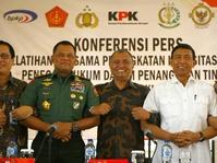 Panglima TNI: Pemberantasan Korupsi di TNI Butuh Peran KPK