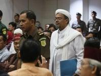 Empat Kekeliruan Pidato Ahok Menurut Rizieq Shihab