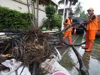 Tumpukan Kabel Kembali Ditemukan di Gorong-gorong Medan Merdeka