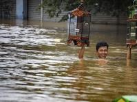 Banjir Landa Tiga Kecamatan di Bandung