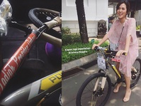 Raisa Bercerita Soal Hadiah Sepeda dari Presiden Jokowi