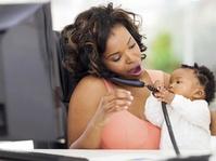 Dilema Membawa Anak ke Tempat Kerja