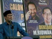 Gerindra Mengaku Tak Sakit Hati Ditinggal Ridwan Kamil