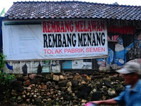 Aktivis Penolak Pabrik Semen Indonesia Praperadilankan Polda Jateng