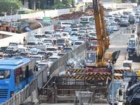 "Pihak MRT Klarifikasi Soal ""Hujan Salju"" di Area Proyek"