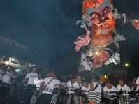 Masyarakat Bali Mengarak 7.079 Ogoh-Ogoh Sambut Hari Nyepi
