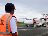 Sriwijaya Air Tergelincir, Semua Penerbangan Dibatalkan