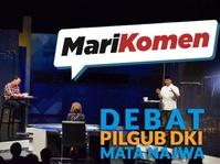 #MariKomen Debat Pilgub DKI Mata Najwa oleh Yunarto Wijaya