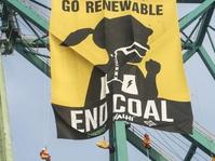 Walhi Gelar Aksi Tolak Pembangkit Listrik Batubara di COP 23 Jerman
