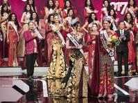 Bunga Jelitha Dinobatkan sebagai Puteri Indonesia 2017