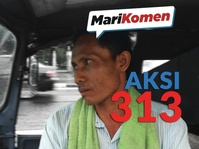 #MariKomen - Aksi 313