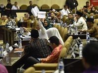 Gerindra, Demokrat, PKB Walk Out Tolak Hak Angket KPK