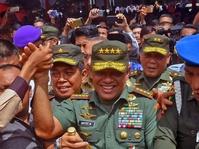 Pangli   ma TNI Tanggapi Namanya Masuk Bursa Pilpres 2019