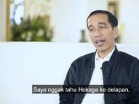 Presiden Jokowi Tak Tahu Naruto Saat Ditanya di Vlog-nya