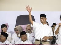 KPU Umumkan Anies-Sandiaga Unggul di Seluruh Jakarta