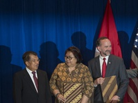 Wapres AS Selamati Hari Kartini dan Puji Menlu Retno