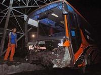 Kecelakaan Beruntun di Jalur Puncak Bogor