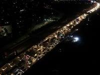 Puncak Arus Balik di Jakarta-Cikampek Terjadi Senin Malam
