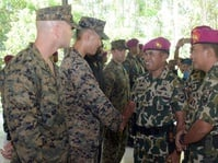 Perkuat Taktik Tempur, TNI AL dan AS Gelar Latihan Bersama
