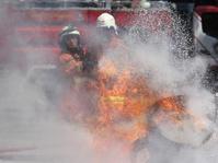 18 Damkar Berupaya Padamkan Kobaran Api di Ruko Jaksel