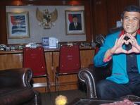 Ketum Partai Idaman Rhoma Irama Lakukan Audiensi dengan KPU