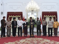 Presiden Kumpulkan Tokoh Lintas Agama di Istana Bogor