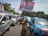 Menteri Perhubungan Umumkan Revisi Taksi Daring di Tujuh Kota