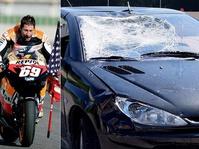Nicky Hayden Ditabrak Mobil Gara-Gara Memakai Headphone
