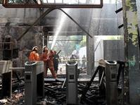Stasiun-Stasiun Kereta Api yang Pernah Terbakar